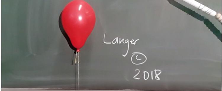 Spielereien mit Wasserstoff 1: Luftballon